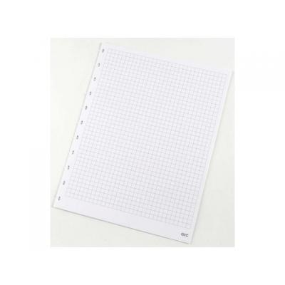 M by staples kladblokvulling: Interieurpapier ARC A4 ruit/pak 50v