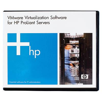 Hewlett packard enterprise virtualization software: VMware vSphere Standard 1 Processor 5yr E-LTU/Promo