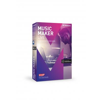 Magix audio software: Magix, Music Maker Live