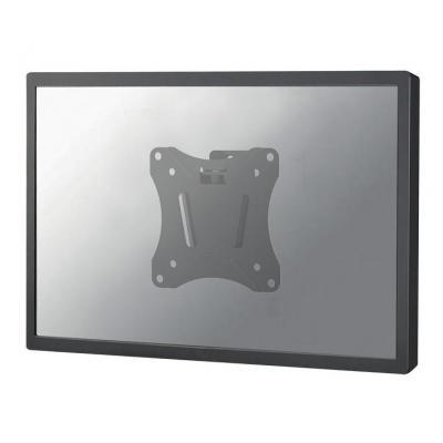 """Newstar montagehaak: De NM-W60BLACK is een kantelbare wandsteun voor flat screens t/m 76.2 cm (30"""") - Zwart"""