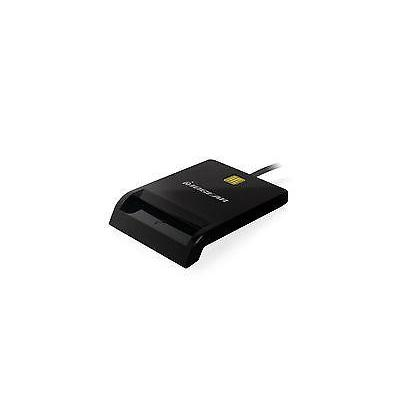 Iogear toegangscontrole-lezer: EMV 4.1, T0, T1, APDU, USB - Zwart