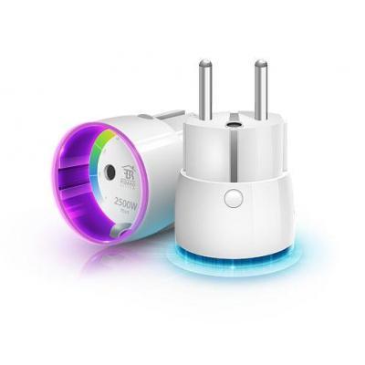 Fibaro stekker-adapter: FGWP-102 - Wit