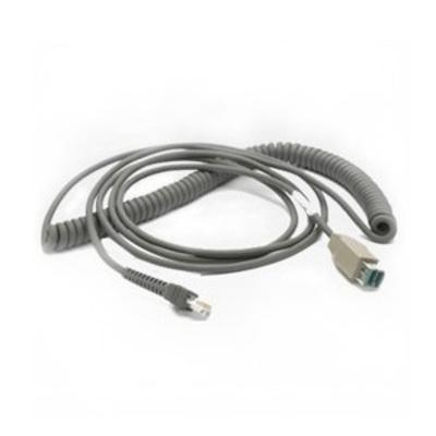 Zebra USB Cable CBA-U08-C15ZAR USB kabel - Grijs