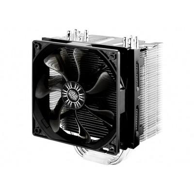 Cooler master Hardware koeling: Hyper 412S - Zwart, Zilver