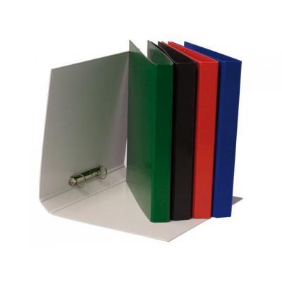 Staples prikbord: Ringband SPLS A4 2r 25mm pp zwart