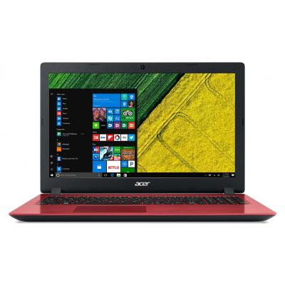 Acer laptop: Aspire A315-31-C7KY - Rood, QWERTY