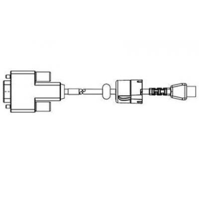 Zebra seriele kabel: Cable Serial Adapter Kit, 9-pin DB-9 RS-232 - Mini USB