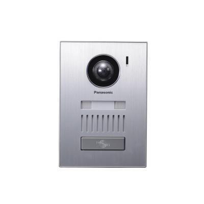 Panasonic deurintercom installatie: 20 V CC, 0,23 A, IP54, 169 x 118 x 30 mm, 345 g, Recessed mounting - Metallic
