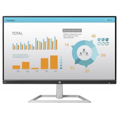"""HP N240 23,8"""" Full HD IPS Monitor - Zwart, Zilver"""