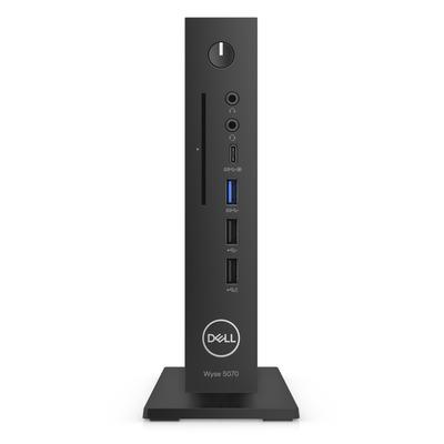 Dell Wyse 5070 Thin client - Zwart