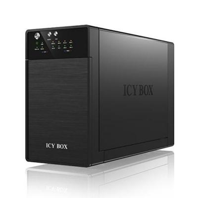 Icy box SAN: IB-RD3620SU3 - Zwart