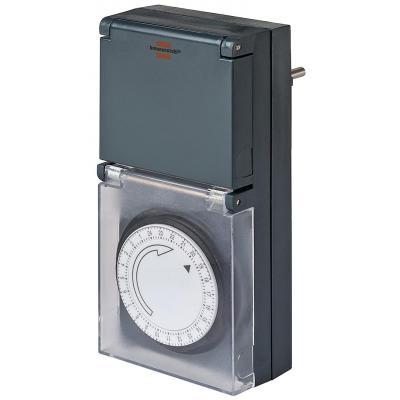 Brennenstuhl elektrische timer: 24 hour Timer - Zwart