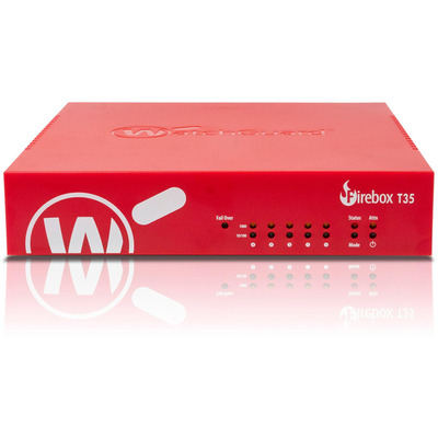 WatchGuard Trade up to Firebox T35 + 1Y Basic Security Suite (WW) Firewall
