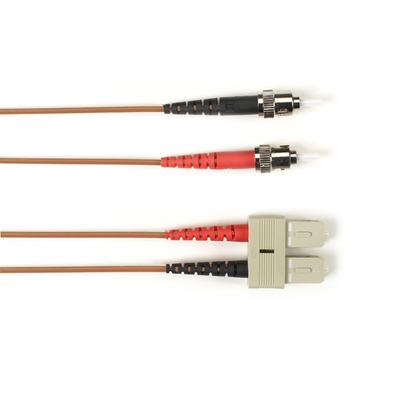 Black Box FOCMR10-001M-STSC-BR fiber optic kabel