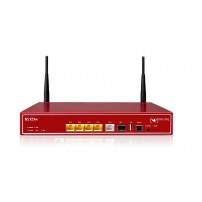 Bintec-elmeg RS123w Wireless router - Rood