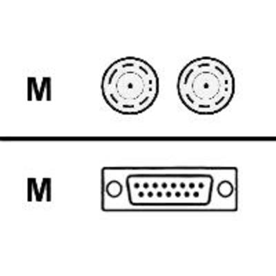 Cisco FSIP amd MIP CE1 BNC 75 Ohm - Unbalanced 5 m Netwerkkabel - Zwart