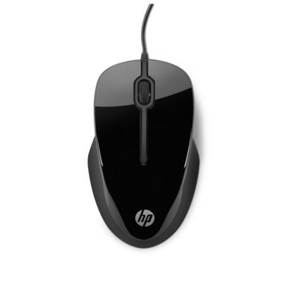 HP X1500 Computermuis - Zwart, Grijs