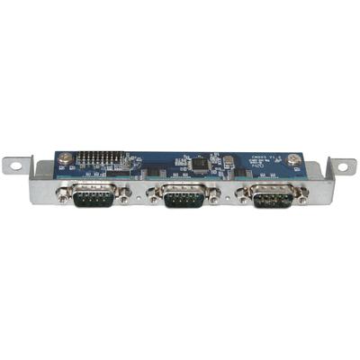 Shuttle Acc Triple COM port for XH81 Interfaceadapter - Blauw, Zilver
