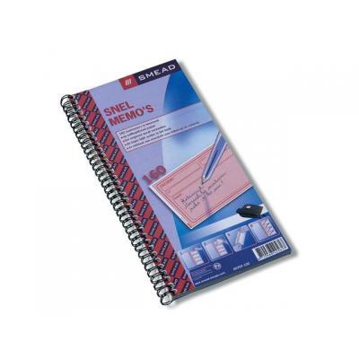 Atlanta mail accessoire: Snelmemo 74x125mm duplo/blok 160/pk 5