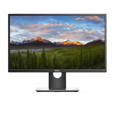 "Dell monitor: 60.452 cm (23.8"") (60.4cm) FHD (1920x1080), 6ms, 250 cd/m2, 16.7M, 5.88kg - Zwart"