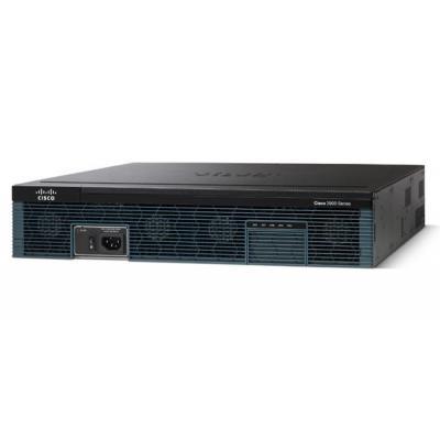 Cisco router: 2921 - Zwart, Zilver