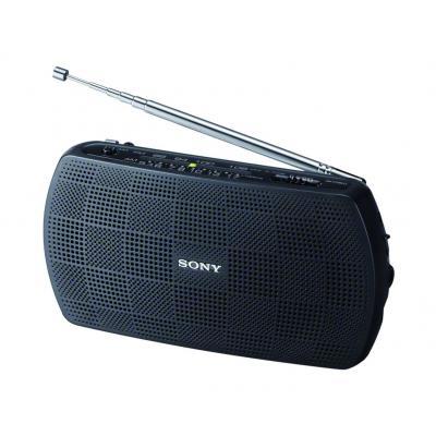 Sony radio: SRF-18 - Zwart