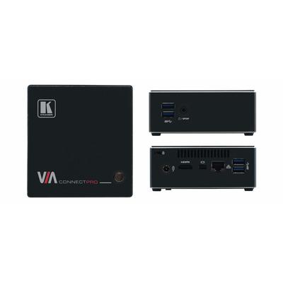 Kramer Electronics VIA Connect PRO AV extender - Zwart