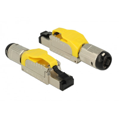DeLOCK 86287 Kabel connector - Zilver, Geel
