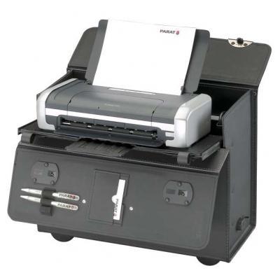 Parat PA-Bold XL voor HP OfficeJet 100, met trolley, zwart Printerkasten & onderstellen
