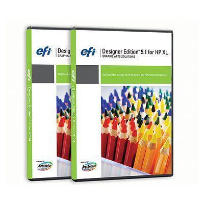 Hp grafische software: EFI Designer Edition 5.1 RIP for (XL) Intl