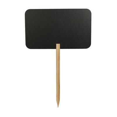 Securit bord: 300 x 26 x 545 mm, 483 g - Zwart