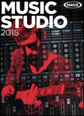 Magix audio software: Music Studio 2015 (download versie)