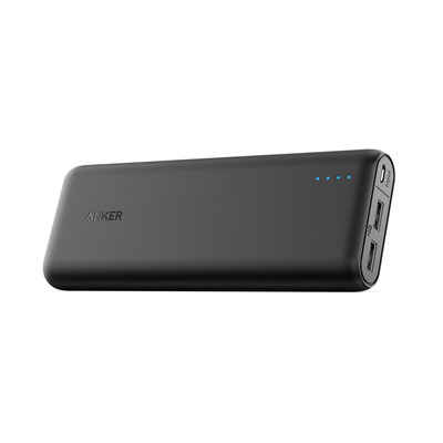 Anker powerbank: PowerCore 15600 - Zwart