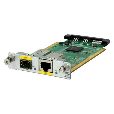 Hewlett Packard Enterprise MSR 1-port GbE Combo SIC Module Netwerk switch module