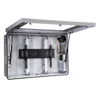 """Peerless Indoor/Outdoor Protective Enclosure with Cooling Fans and Thermostat Controlled Heater For 46""""-47"""" ....."""