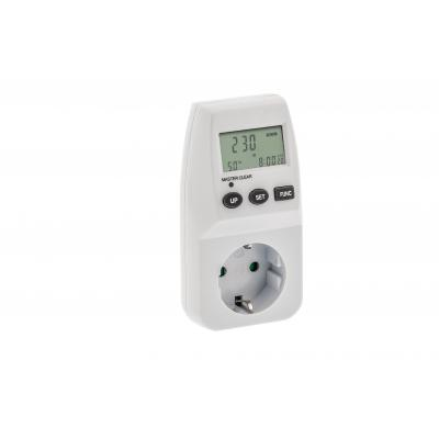 Valueline : Type F, Max. 3600W, 230V, 16A, white - Wit