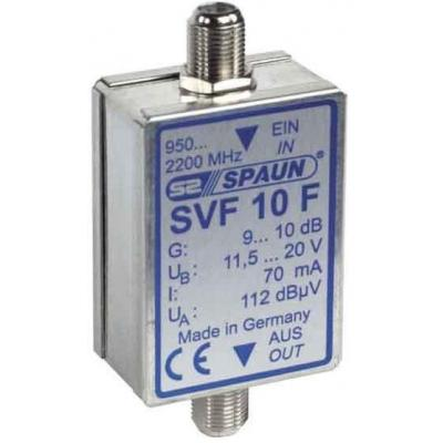 Spaun signaalversterker TV: SVF 10 F - Zilver