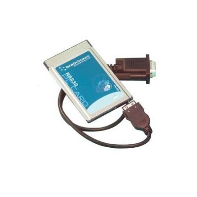 Brainboxes PCMCIA 9-pin RS232 Interfaceadapter - Bruin