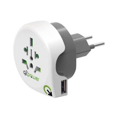 Q2-power stekker-adapter: 1.100210 - Wit