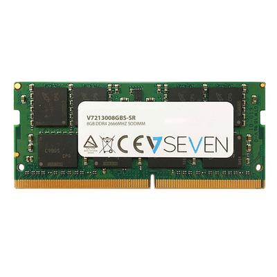 V7 8GB DDR4 PC4-21300 - 2666MHZ 1.2V SO DIMM Notebook Memory Module - 213008GBS-SR RAM-geheugen