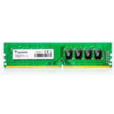 Adata RAM-geheugen: 8 GB, 1024M x 8, DDR4 U-DIMM, 2400 Mhz - Groen