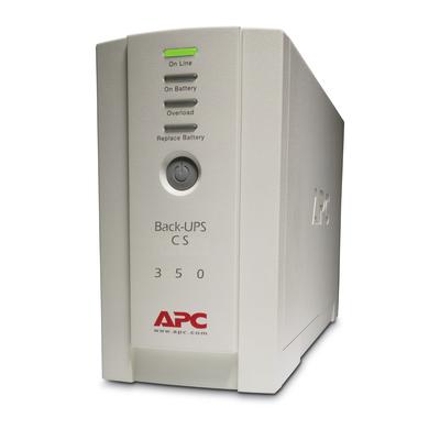 APC Back-350VA noodstroomvoeding 4x C13 uitgang, USB UPS - Beige