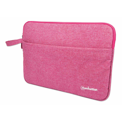 "Manhattan Seattle Laptop Sleeve 14.5"", Coral, Padded, Extra Soft Internal Cushioning, Main Compartment with ....."