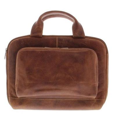 Plevier Akasaka Laptop Sleeve/Tas 13-14 Inch Cognac Laptoptas - Bruin