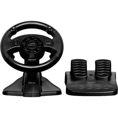Speed-link game controller: DARKFIRE Racing Wheel - Zwart