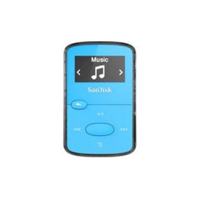 Sandisk SDMX26-008G-G46B MP3 speler - Blauw