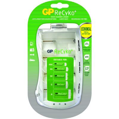 Gp batteries oplader: ReCyko+ PB19GS - Wit