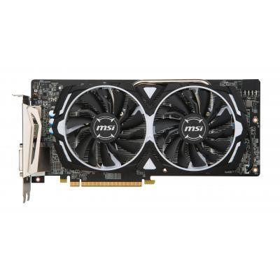 Msi videokaart: AMD Radeon RX580, PCI Express x16 3.0, 8GB GDDR5, 256 bits, 2 x DisplayPort, 2 x HDMI, 1 x DVI-D - .....
