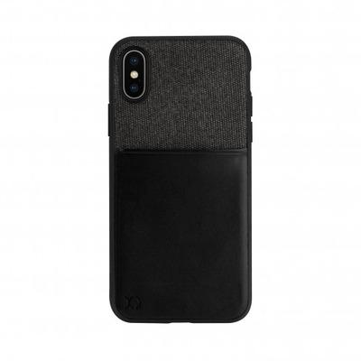 Xqisit Card Case Mobile phone case - Zwart