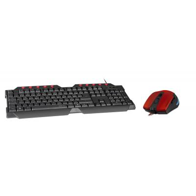 Speedlink game assecoire: Special Price -, FERUS Gaming Keyboard (US Layout) +, AKLYS Wired Gaming Mouse (Black / Red)